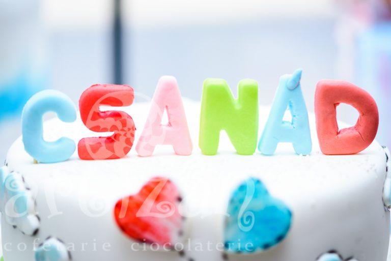 """Tort de Botez – """"Csanad"""" 1"""
