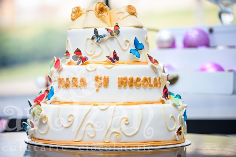 "Tort de Botez – ""Mara si Nicolas"" 1"