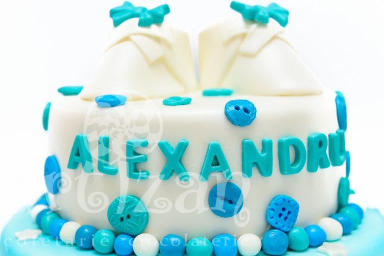 """Tort de Botez – """"Alexandru"""" 1"""