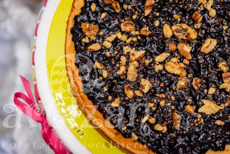 cheesecake cu nuci si afine 1