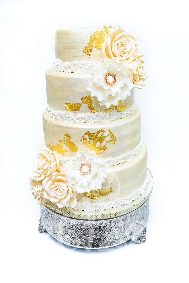 """Tort de nunta """"Gold"""""""