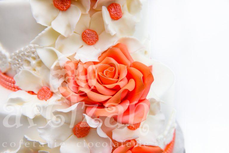 """Tort de nunta """"Coral"""" 1"""