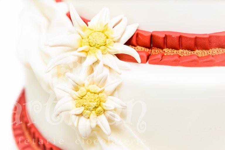 "Tort de nunta ""Edelweiss"" 1"