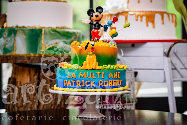 Tort aniversar – Pluto & Mickey