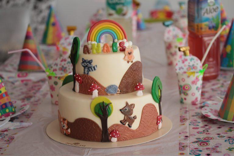 """Tort """"Rainbow"""" pentru Anais"""