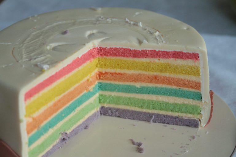 """Tort """"Rainbow"""" pentru Anais 1"""