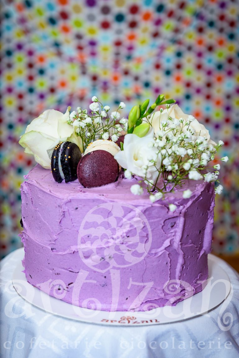 "tort aniversar – ""violet"" 1"