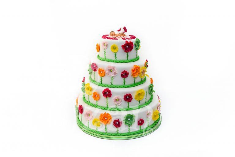 """Tort de Botez """"Flower"""""""