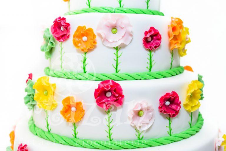 """Tort de Botez """"Flower"""" 1"""