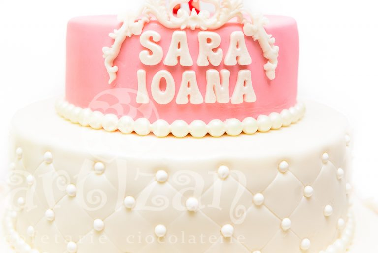 """Tort de Botez """"Sara Ioana"""" 1"""