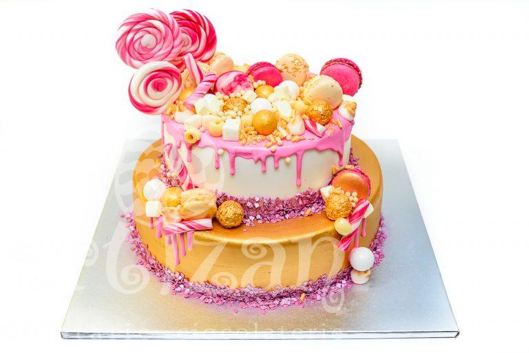 """Tort de Botez """"Candy"""" 1"""