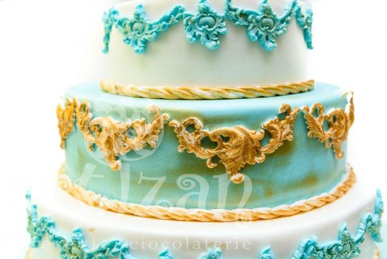Blue Cake 1