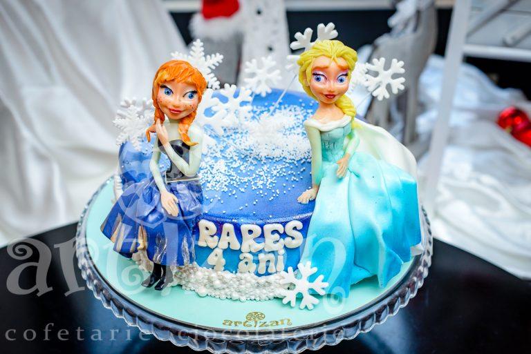 "Tort Aniversar ""Frozen 2"" 1"