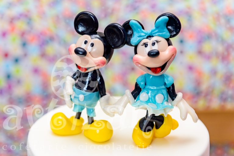 "Tort de Botez ""Mickey & Minnie"" 1"