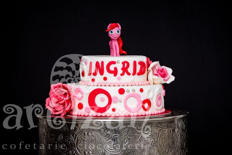 "Tort de Botez ""Ingrid"""