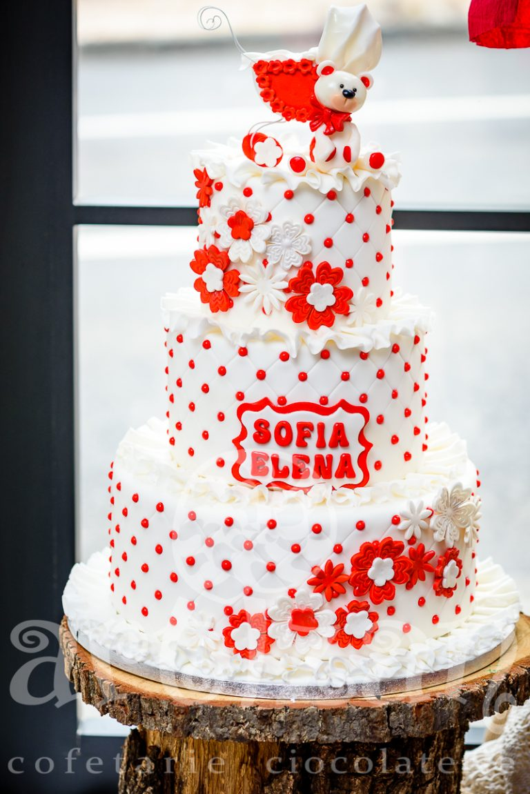 """Tort de Botez """"Sofia Elena"""" 1"""