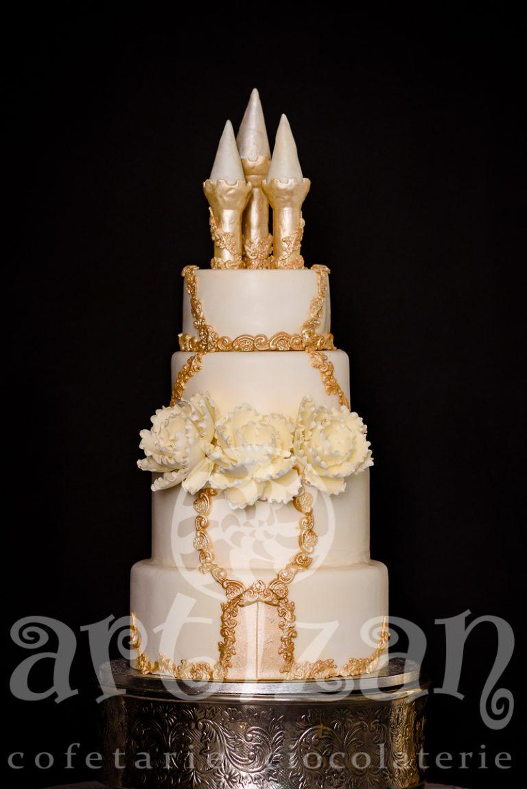 """Tort de nunta """"CETATE"""" 1"""