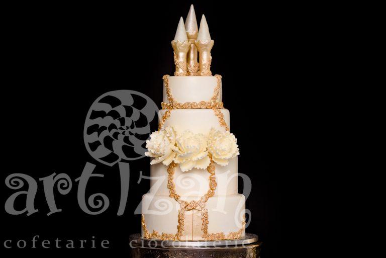"""Tort de nunta """"CETATE"""""""