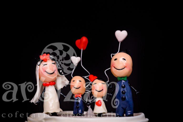 """Tort de Nunta """"Happy Family"""" 1"""