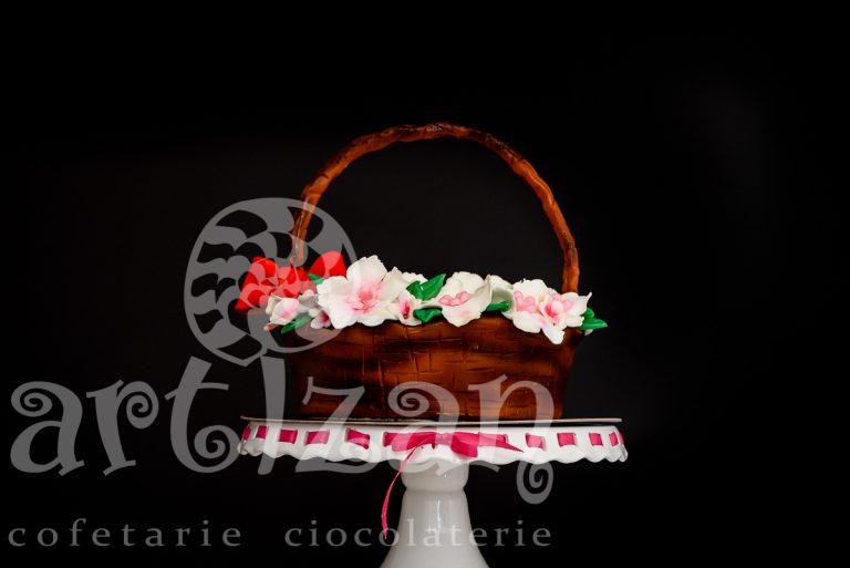 """Tort """"Cosulet cu Flori"""" 1"""