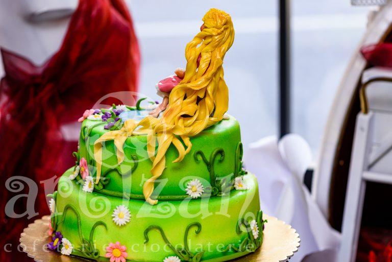 """Tort Aniversar """"Rapunzel"""" 1"""