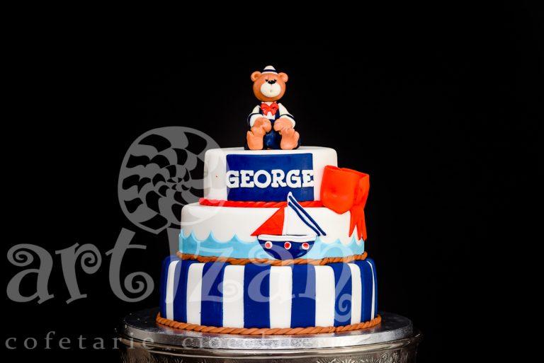 """Tort de Botez """"George"""""""