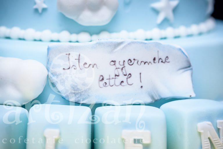 """Tort de Botez """"Nolen"""" 1"""