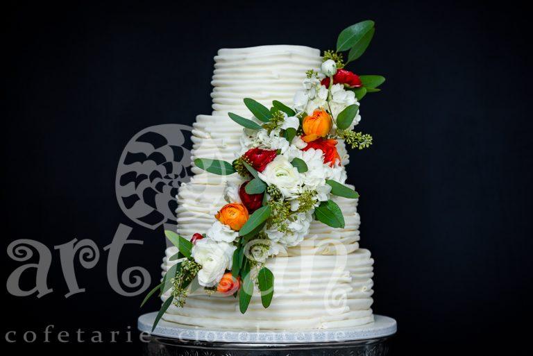"""Tort de Nunta """"Floral Wedding"""""""