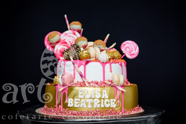 """Tort de Botez """"Elisa Beatrice"""""""