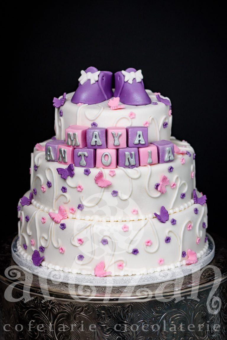 """Tort de Botez """"Maya Antonia"""" 1"""