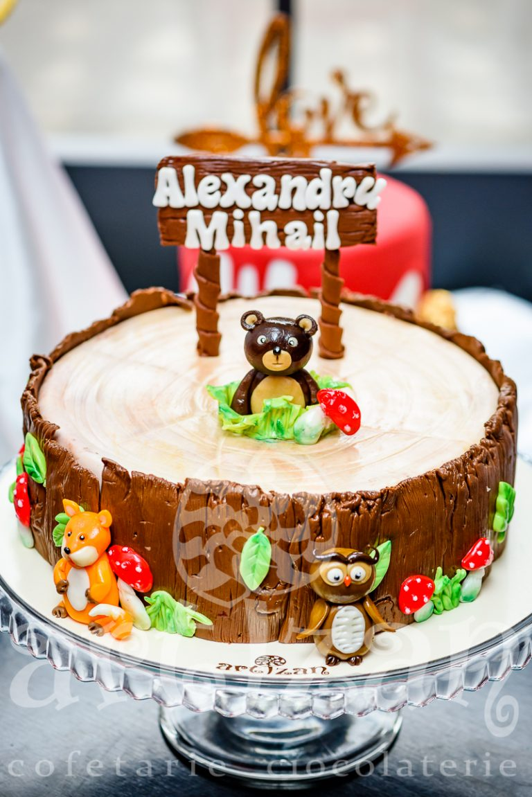 """Tort de Botez """"Alexandru Mihail"""" 1"""