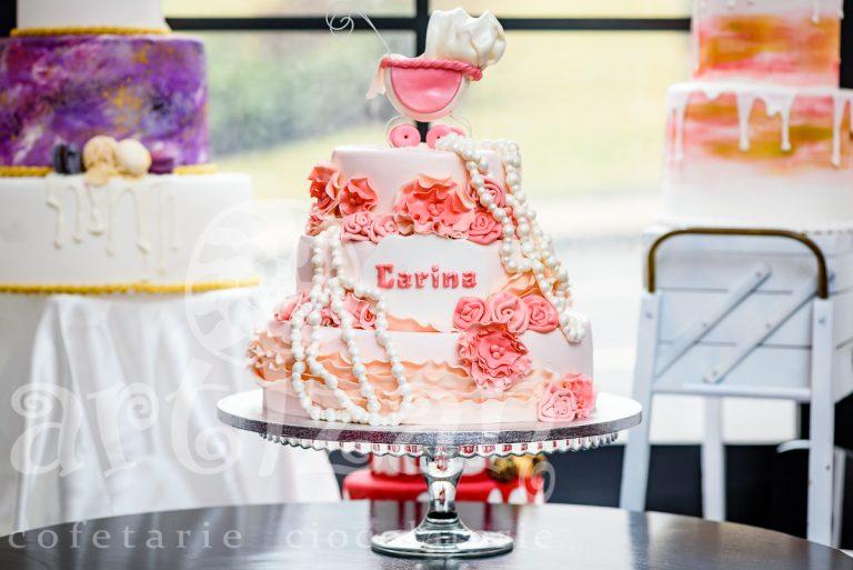 """Tort de Botez """"Carina"""" 1"""