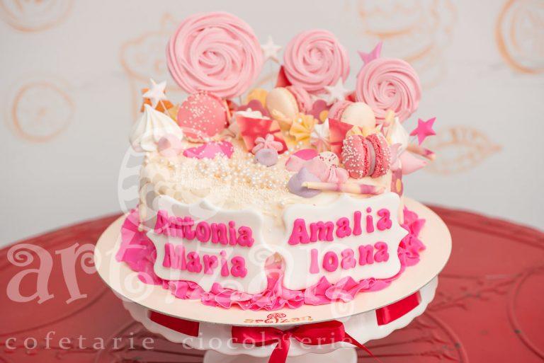 "Tort de Botez ""Antonia & Amalia"" 1"