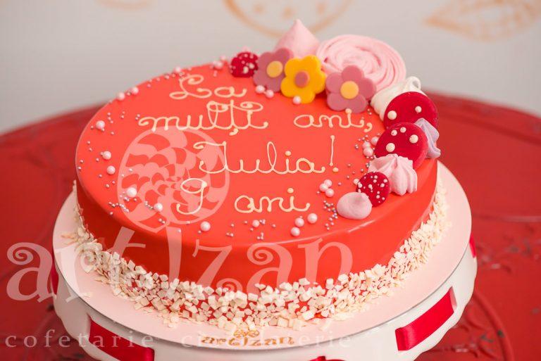 """Tort Aniversar """"Iulia"""" 1"""
