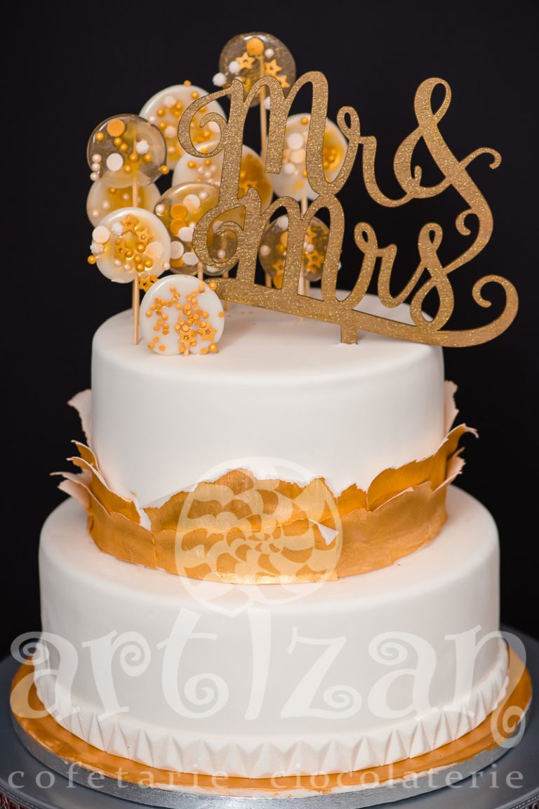 """Tort de nunta """"Lollipop"""" 1"""