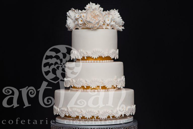 "Tort de nunta ""Elegance"""