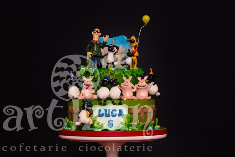 "Tort Aniversar ""Shaun the sheep"""
