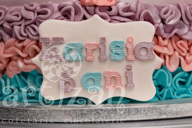 "Tort Aniversar ""Karisia"" 1"