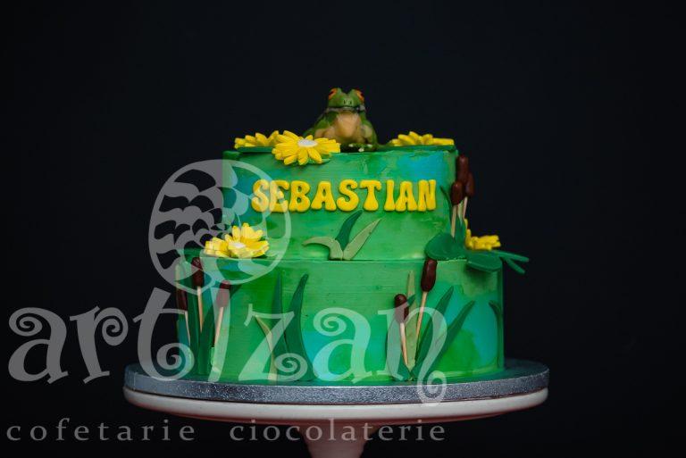 "Tort Aniversar ""Sebastian"""