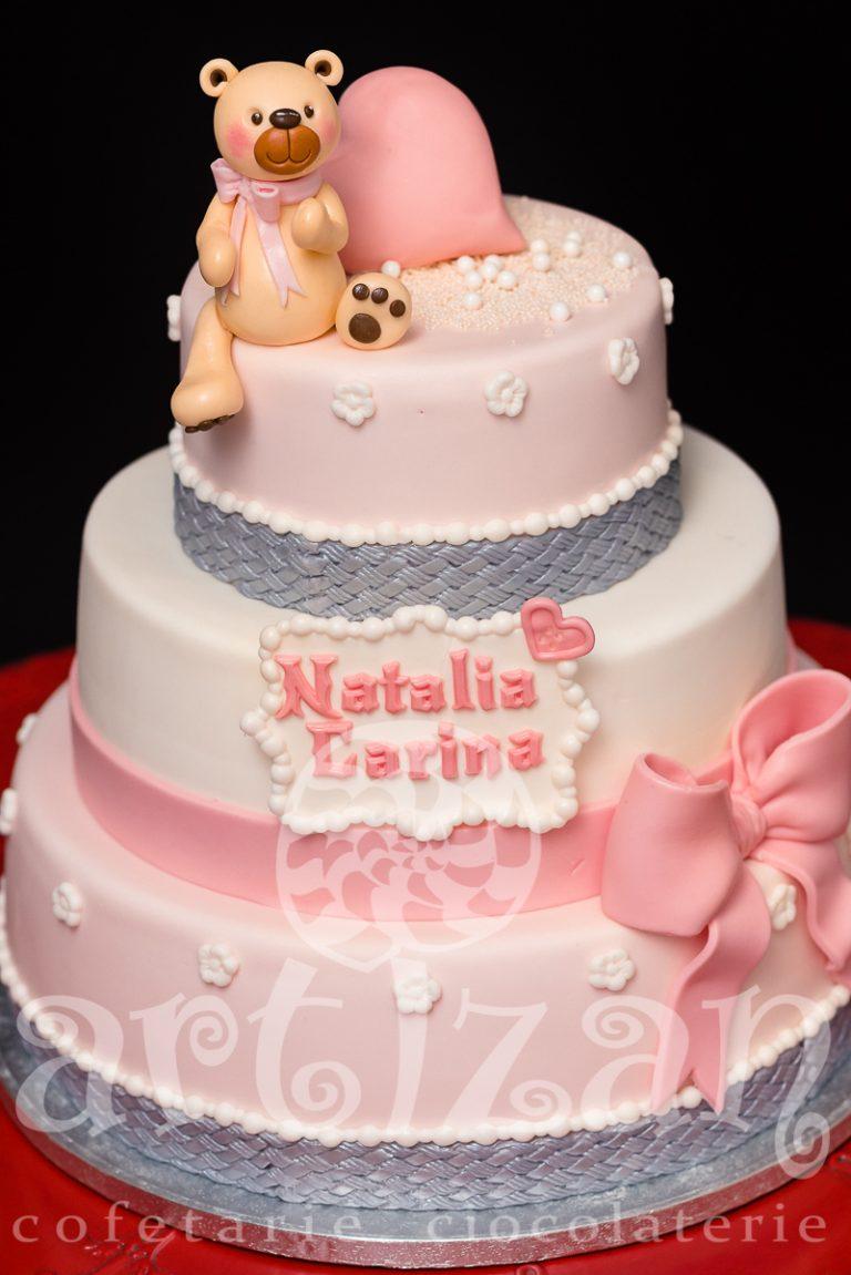 "Tort de Botez ""Natalia Carina"" 1"