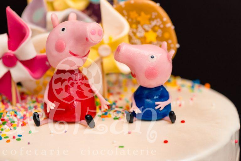 "Tort Aniversar ""Peppa Pig"" 1"