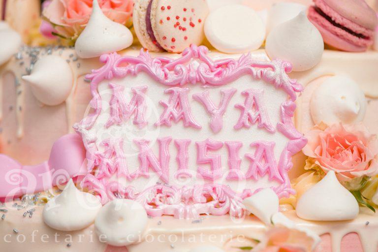 """Tort de Botez """"Maya Anisia"""" 1"""