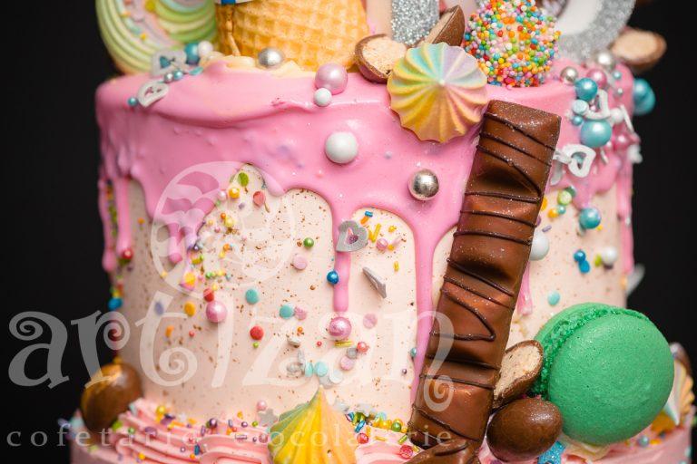 "Tort Aniversar ""Candy"" 1"