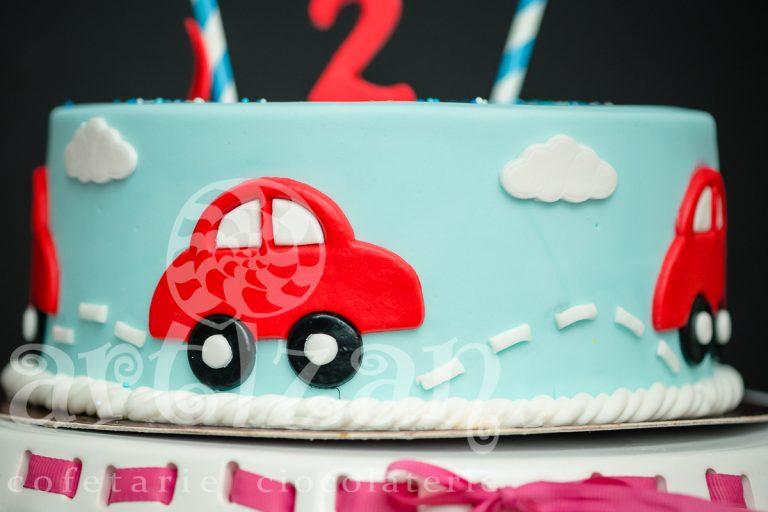 """Tort Aniversar """"Little Car"""" 1"""