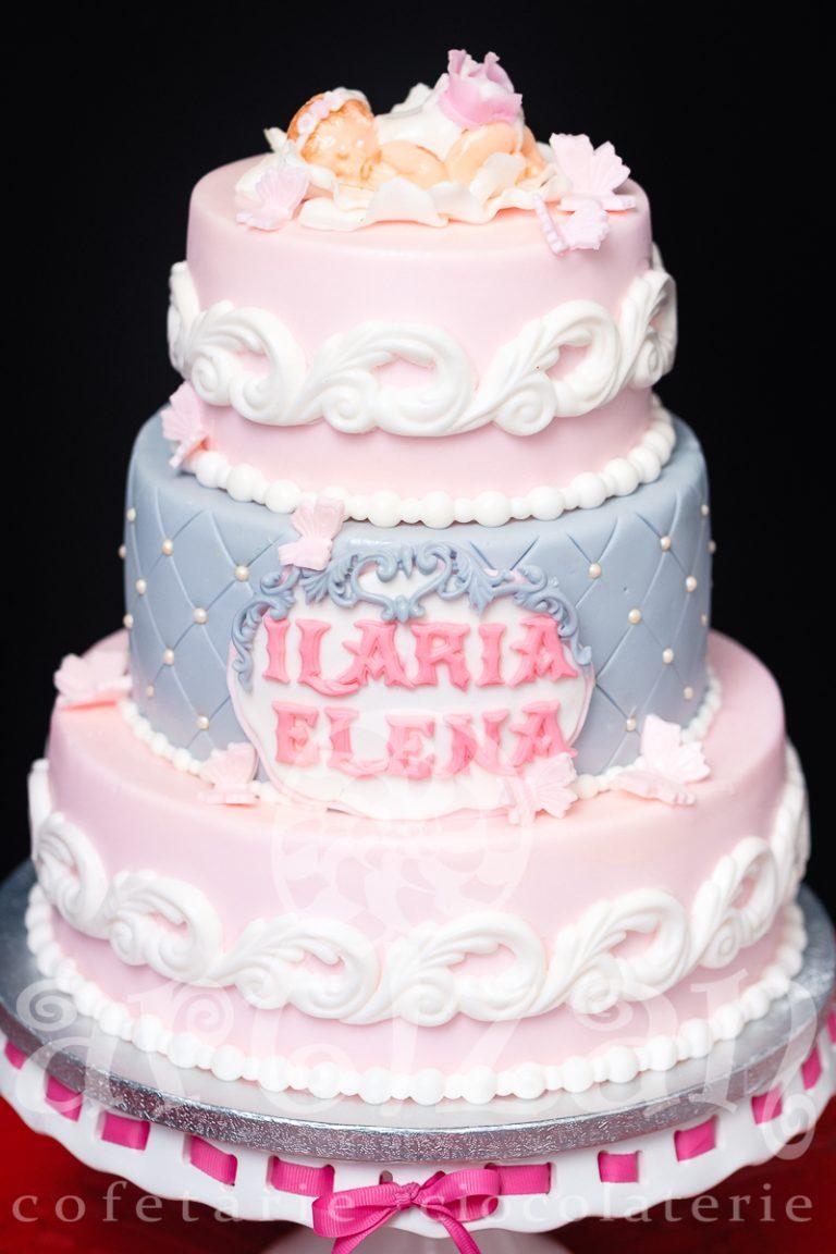 """Tort de Botez """"Ilaria Elena"""" 1"""