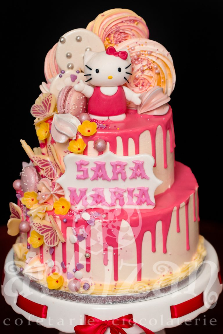 "Tort de Botez ""Hello Kitty"" 1"