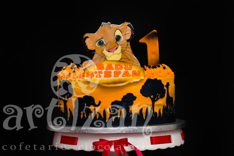 "Tort Aniversar ""Safari"" 1"