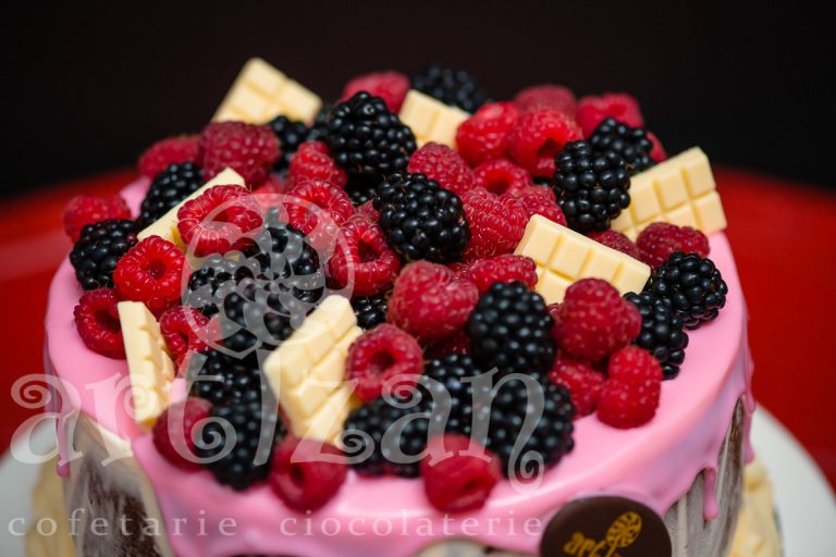 "Tort ""Fantezie & Fructe de padure"" 1"