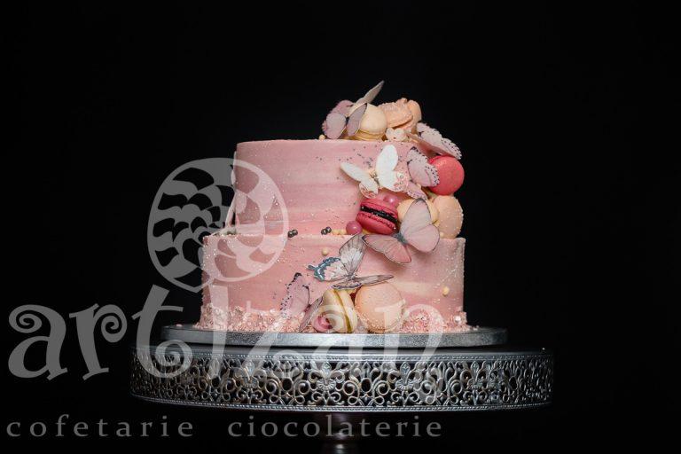 "Tort de Botez ""Fluturi"""
