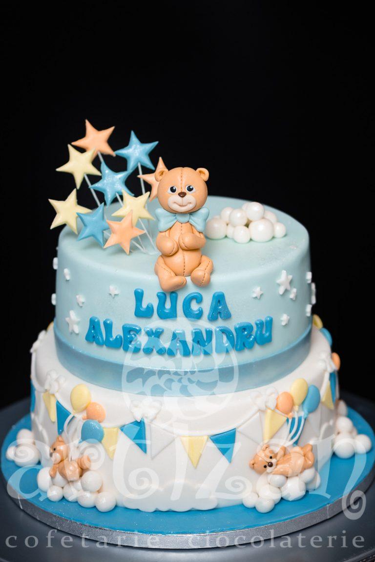 """Tort de Botez """"Luca Alexandru"""" 1"""